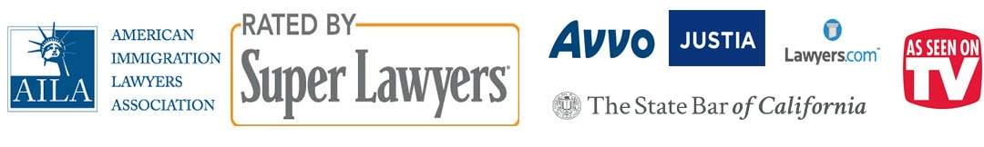 Members of American Immigration Lawyers Association (AILA) and rated by Super Lawyers